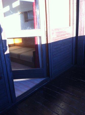 Budai Sport Hotel: Balcony