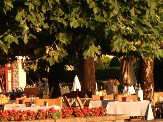 Restaurant Le Cottage Bise : Terrasse
