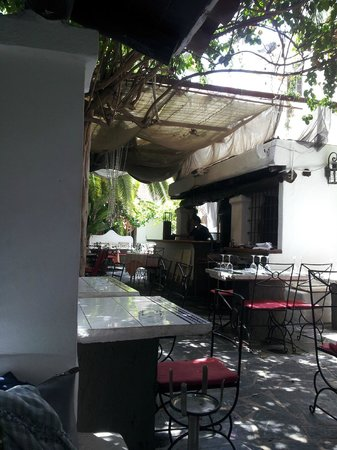 La Brasa: the place inside