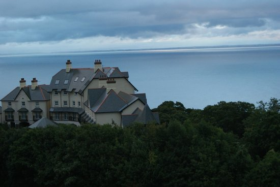 Sinai House : Overlooking the South Wales coast.