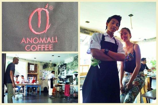 Anomali Coffee Ubud: coffe making challenge trial