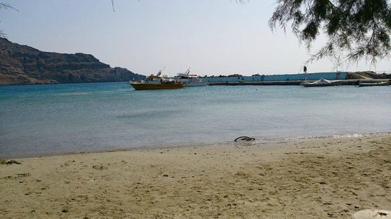 Galini Beach: One aspect of the fantastic beaches, with crystal clear sea and sandy beach!