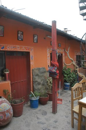 Pachamama: inner courtyard