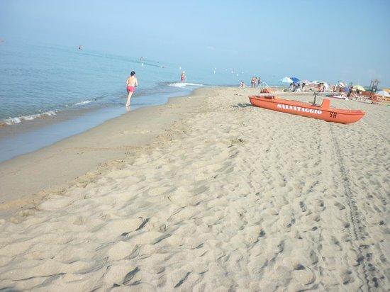 Schuhmann Strand Hotel: La spiaggia al mattino