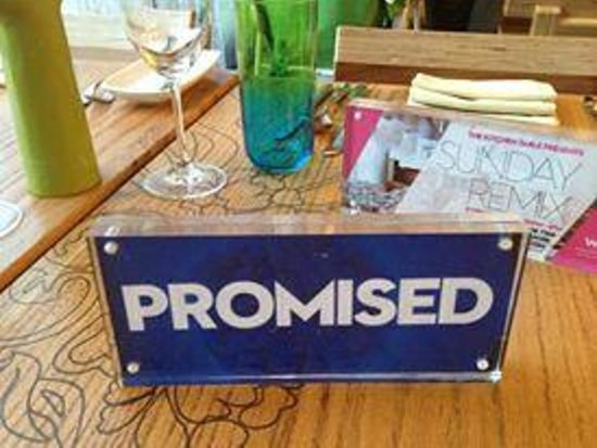 The Kitchen Table : Promised - sounds so great