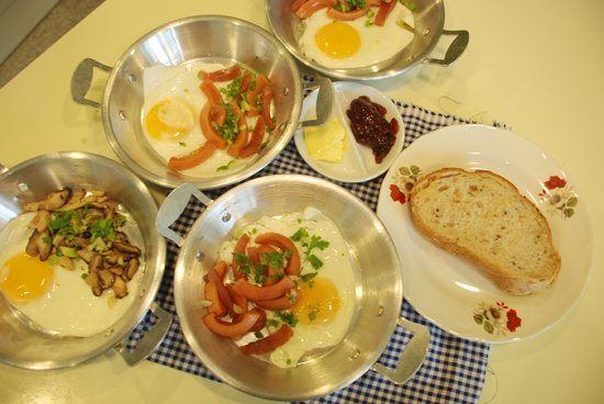 Rang Kha Mhin Home stay at Khao san,Bangkok: Pan egg