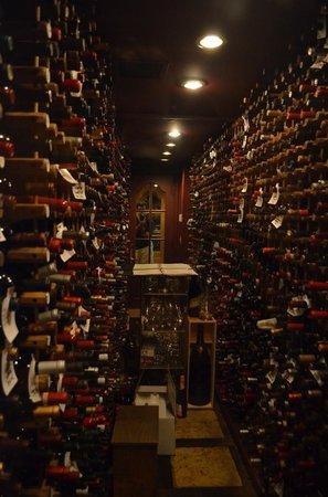 "The Inn at Little Washington: The wine ""cellar"""