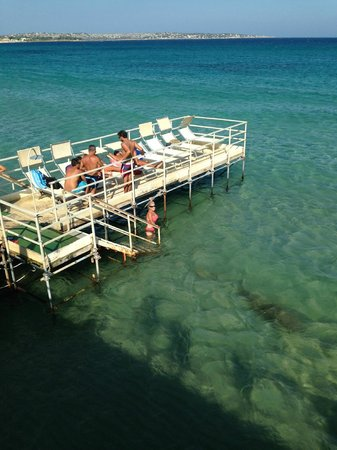 Hotel Principe di Fitalia: Aranella Lido step to the sea