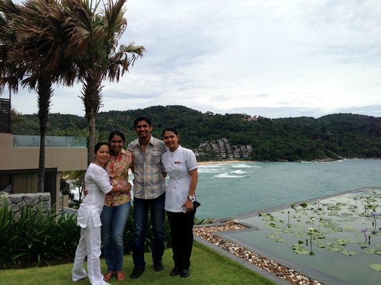 Impiana Private Villas Kata Noi: With Su and Beu who took very good care of us :)