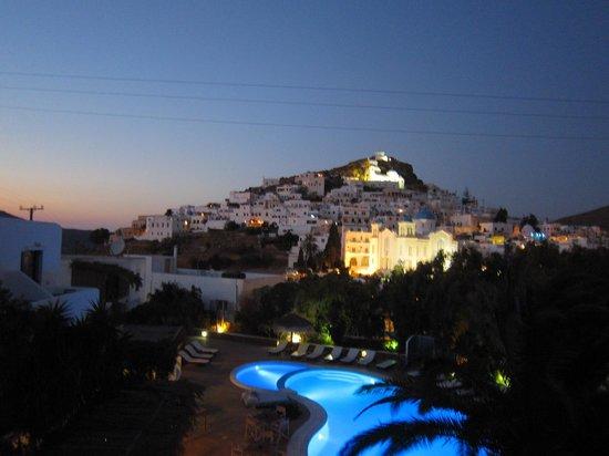 Hotel Mediterraneo: Ios splendente, dalla camera!