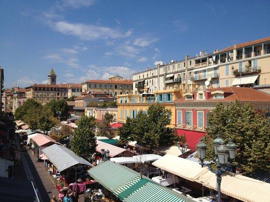 """Lou Souleou: Cours Saleya """"place du marché"""""""