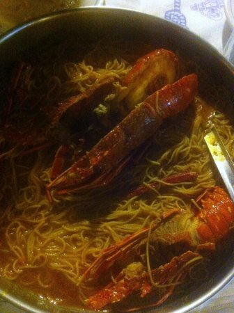 Gorgona Restaurant : Αστακομακαρονάδα