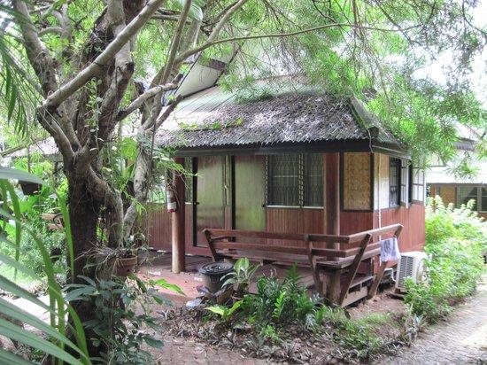 Maehongson Hills Resort : Teak wood bungalow
