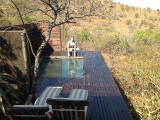 Nkomazi Game Reserve : OUR PRIVATE POOL