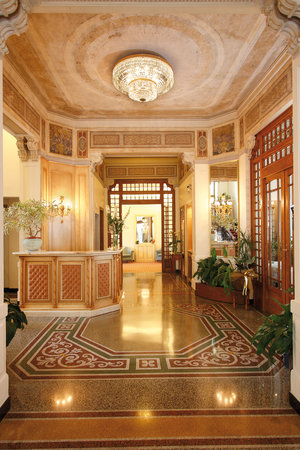 Hotel Genovese Villa Elena: Hall-reception