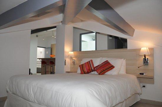 Best Western Eurociel Centre: loft_chambre
