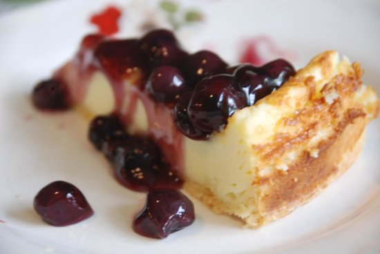 Rang Kha Mhin Home stay at Khao san,Bangkok: blueberry cheese cake