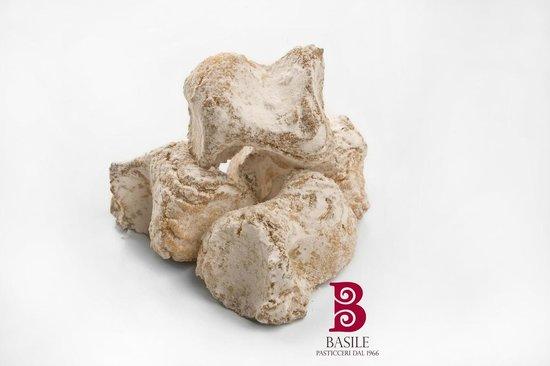 Pasticceria Basile : biscotti di mandorla fiocchi di neve