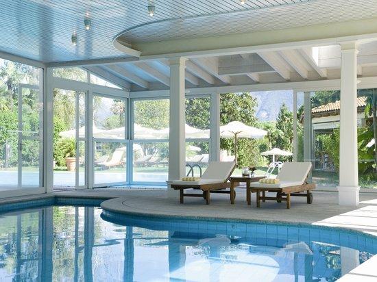 Park Hotel Delta Wellbeing Resort: Parkhotel Delta Ascona Pool