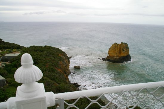Split Point Lighthouse: The view from the top