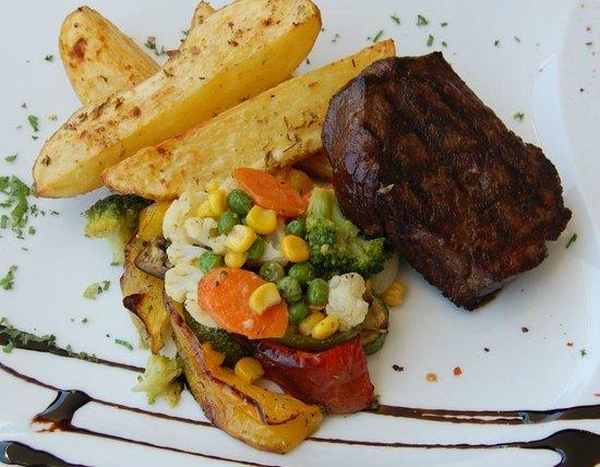 Andria Restaurant: Grilled Fillet Steak
