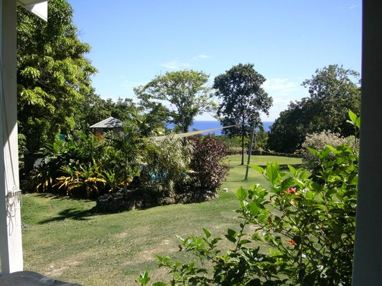 Namukulu Cottages & Spa: View from our cottage