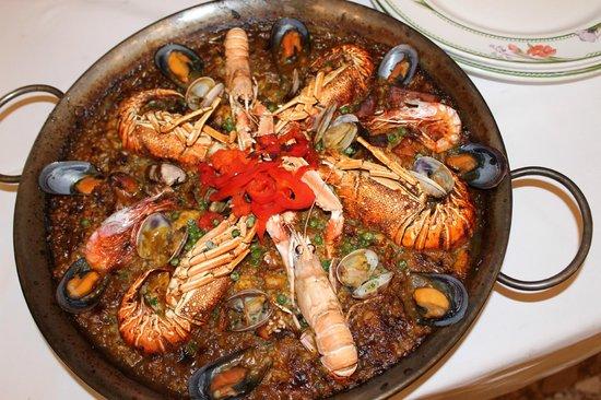 Restaurant Duran : PAELLA DE BOGAVANTE