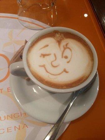 Oibo : cappuccino I got this morning- delicious!