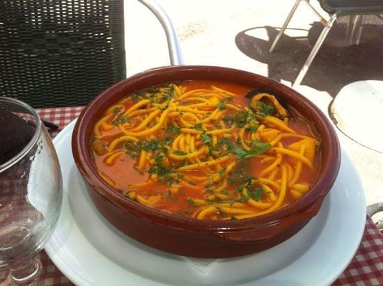 Casa Ramon : spaghetti alla marinara