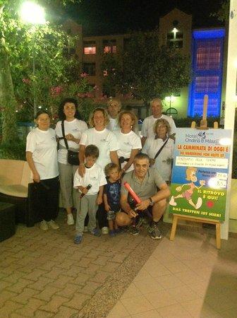 Hotel Ondina & Milazzo: Alla partenza di una camminata