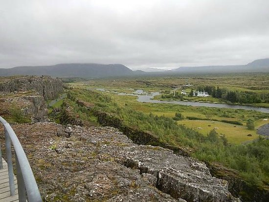 Thingvellir National Park: Faille tectonique de Thingvellir