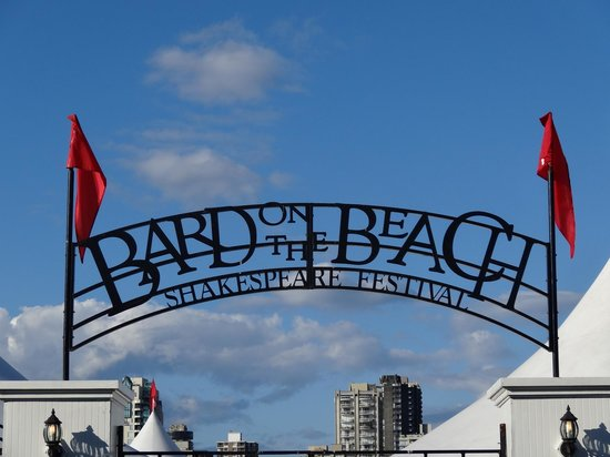 Bard on the Beach Shakespeare Festival: Your first sight