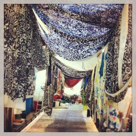 Clovelly Silk Shop