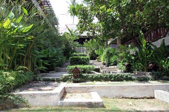 Baan Haad Ngam Boutique Resort & Spa: Hotelanlage