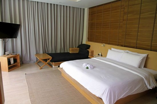 Baan Haad Ngam Boutique Resort & Spa: Der Wohn-/Schlafraum