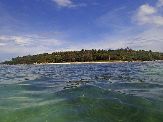 Baan Haad Ngam Boutique Resort & Villas: Vorgelagerte Insel