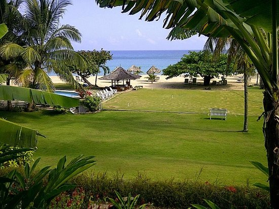 Jamaica Inn: View from my room