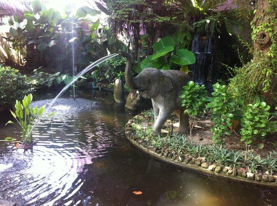 Garden Resort: vijver
