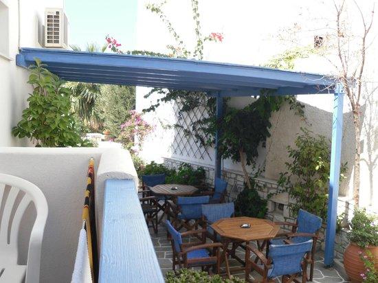 Anna Platanou Hotel: view from my balcony
