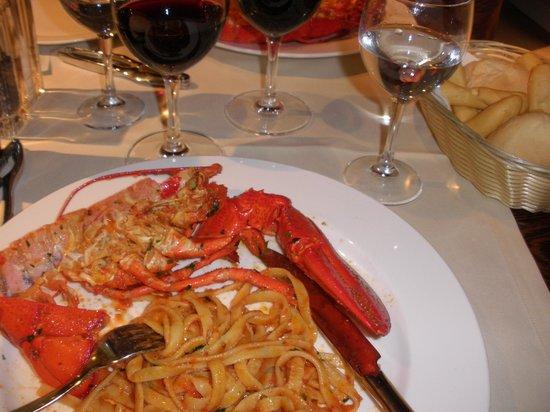 Trattoria Caissa: Lobster