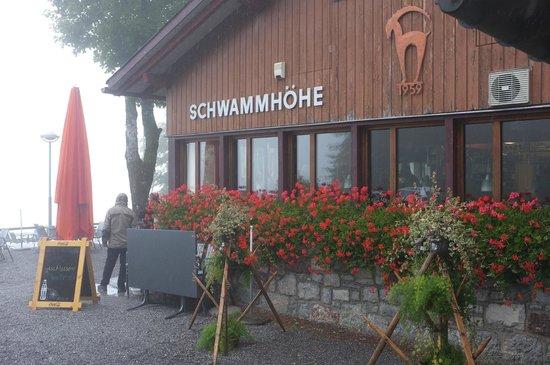 Berggasthaus Schwammhöhe: Restaurant Schwammhöhe
