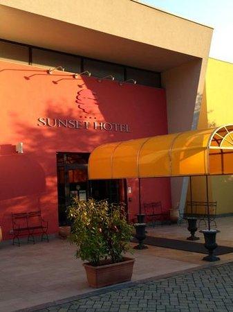 Hotel Sunset : ingresso