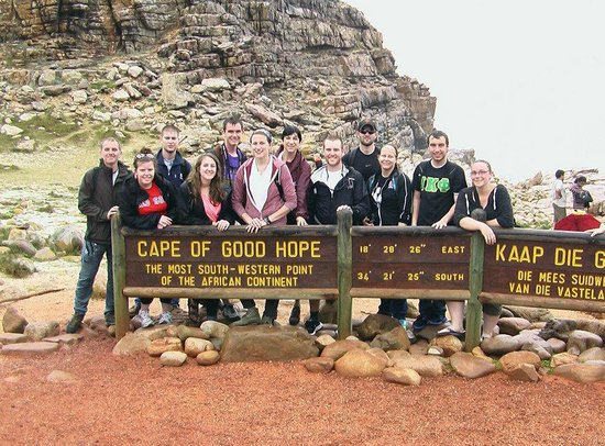 Baz Bus - Day Tours: most south western point of Africa