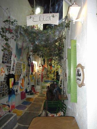 Elia Food & Drink: The winding alleys of Chora, Ios.