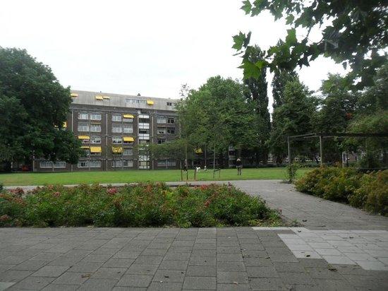 Hampshire Hotel - Lancaster Amsterdam: parco esterno all'hotel
