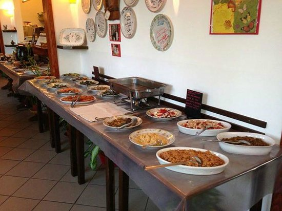 La Trattoria Vegana: Tavolo 2 del ns buffet