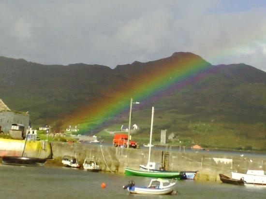 Mulranny Park Hotel : Rainbow at Corraun Peninsula