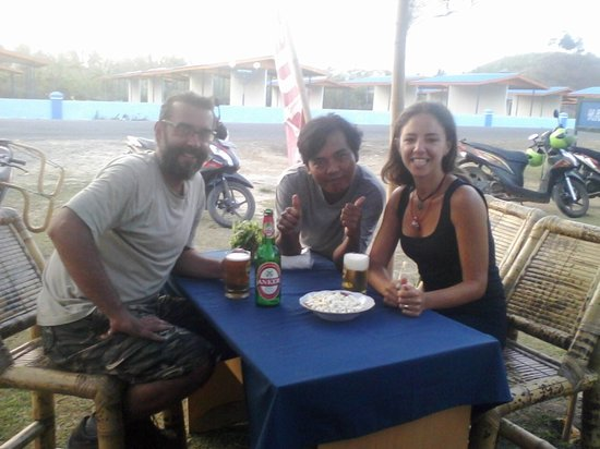 Warung Radar Kuta Lombok : with guest