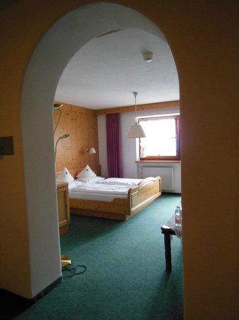 Hotel Restaurant Peter : la zona letto dal disimpegno
