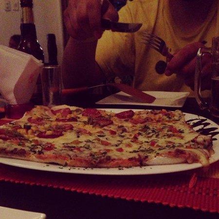 El Cielo - Fusion Amazonica : pizza con masa de yuca